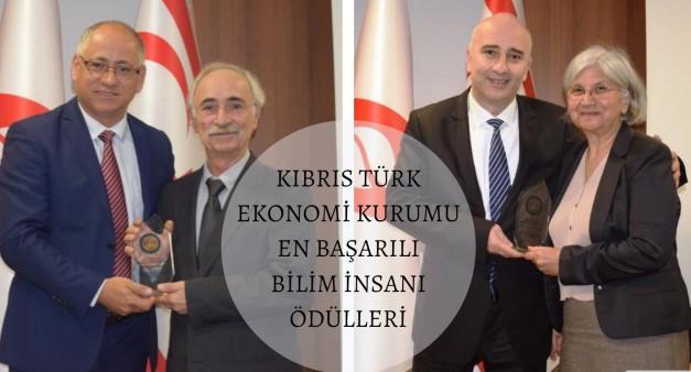 """Prof. Dr. Fatma Doğruel ve Prof. Dr. Suut Doğruel'e """"En Başarılı Bilim İnsanı Ödülü"""""""