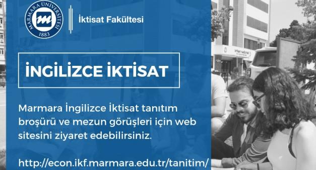 Marmara İngilizce İktisat